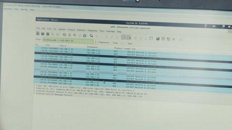 Capture de l'écran d'un ordinateur contenant des fichiers, capture venant de la web-série de la formation FORMATION SSI